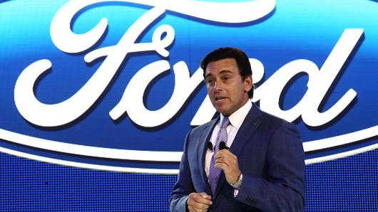CEO Mark Fields của Ford (Ảnh: Bloomberg/Getty Images)