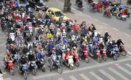 Thị trường xe máy Việt Nam đã trở nên bão hòa.