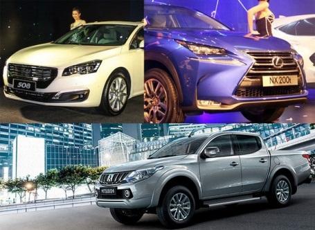 Ôtô nhập nguyên chiếc trên đà tăng giá 20%