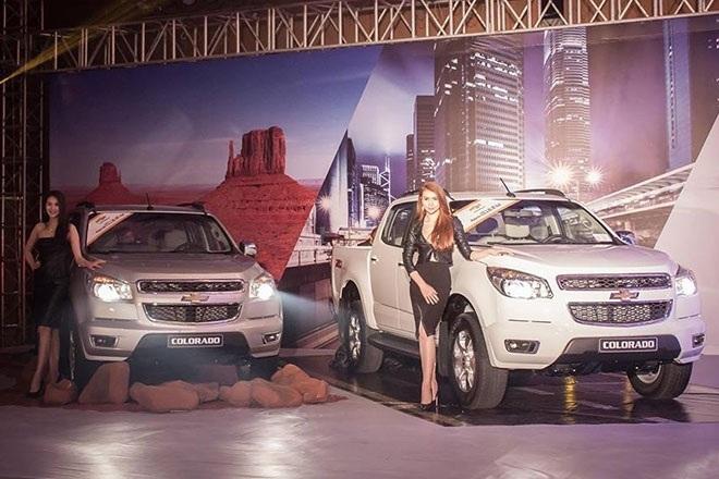 Dòng xe nhập khẩu nguyên chiếc Chevrolet Colorado của GM Việt Nam luôn trong tình trạng ế ẩm