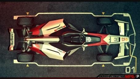 MP6/P - Tương lai sau 40 năm của xe đua F1?