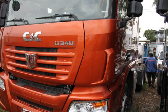 Một cơ sở bán xe tải Trung Quốc nhập khẩu tại TP HCM (Ảnh: Hoàng Triều)