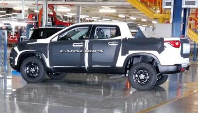 Fiat sắp ra xe bán tải?