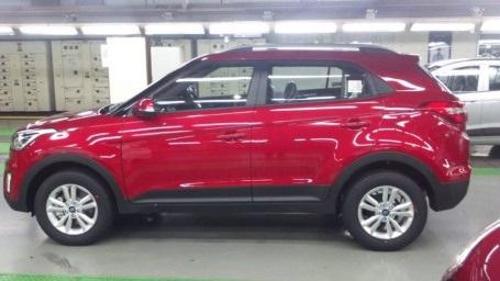 SUV mới của Hyundai lần đầu lộ diện