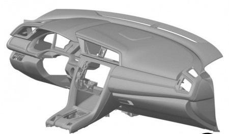 Hé lộ thiết kế táp-lô xe Civic thế hệ mới