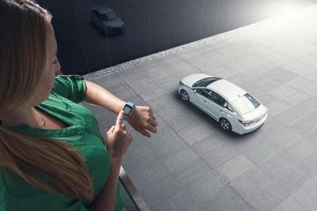 Có thể điều khiển từ xa xe Hyundai bằng Apple Watch
