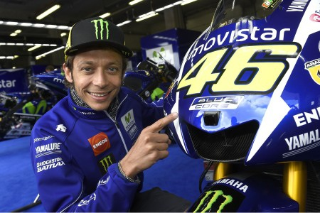 "Movistar Yamaha MotoGP ""dán tem"" BlueCore cho xe đua YZR M1"