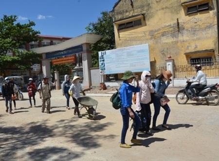 Thí sinh Quảng Ngãi đã đến các điểm thi ở Bình Định.