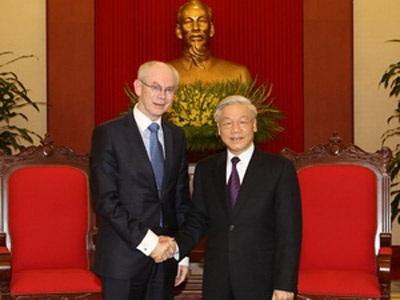 EU rất coi trọng vị trí của Việt Nam trong khu vực