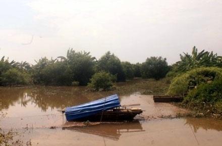 Những chiếc thuyền lâu ngày không được sử dụng...