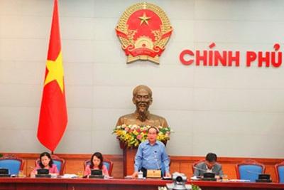 Phó Thủ tướng Nguyễn Thiện Nhân chủ trì cuộc họp (Ảnh: Chinhphu.vn)