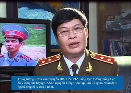 Nhớ về vụ án oan của Trung tướng Hữu Ước