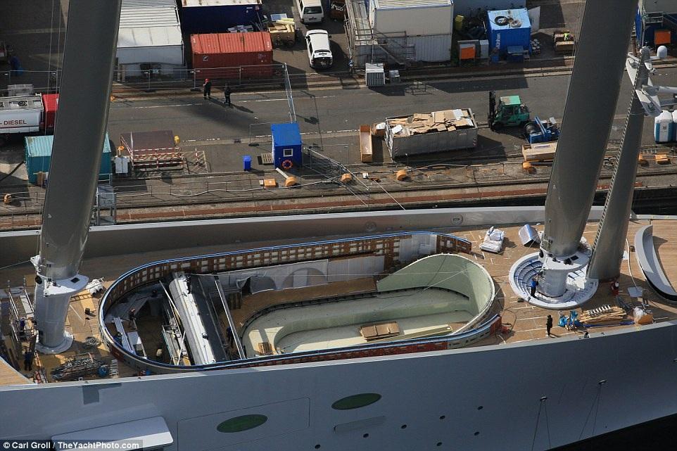 Chiêm ngưỡng du thuyền 400 triệu USD của tỷ phú Nga - 4