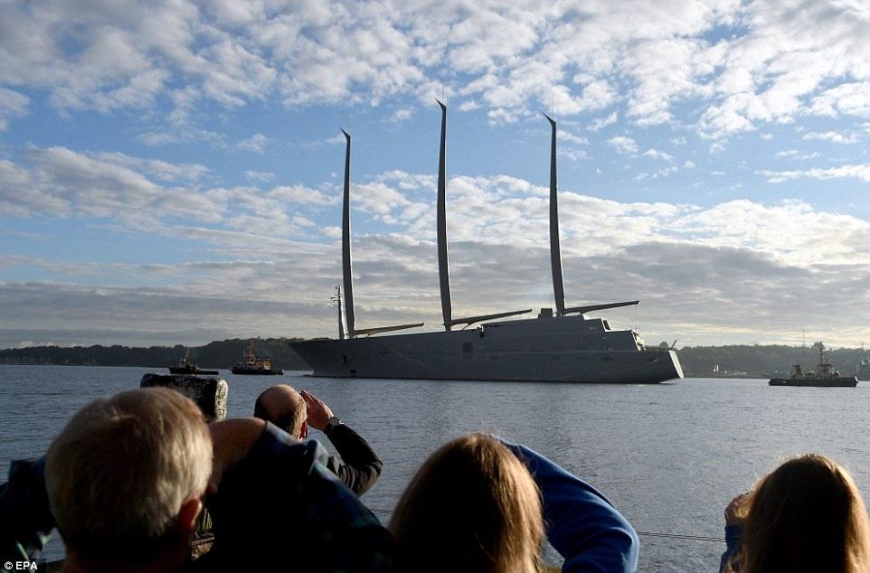 Chiêm ngưỡng du thuyền 400 triệu USD của tỷ phú Nga - 2