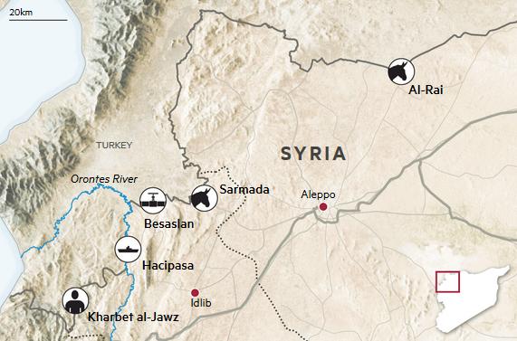 Có nhiều hình thức vận chuyển khác nhau để đưa dầu lậu từ Syria sang Thổ Nhĩ Kỳ (Ảnh: FT)