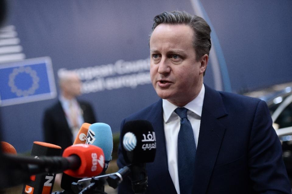 Ông David Cameron tin tưởng thỏa thuận vừa đạt được sẽ thuyết phục được cử tri Anh. (Ảnh: AFP)