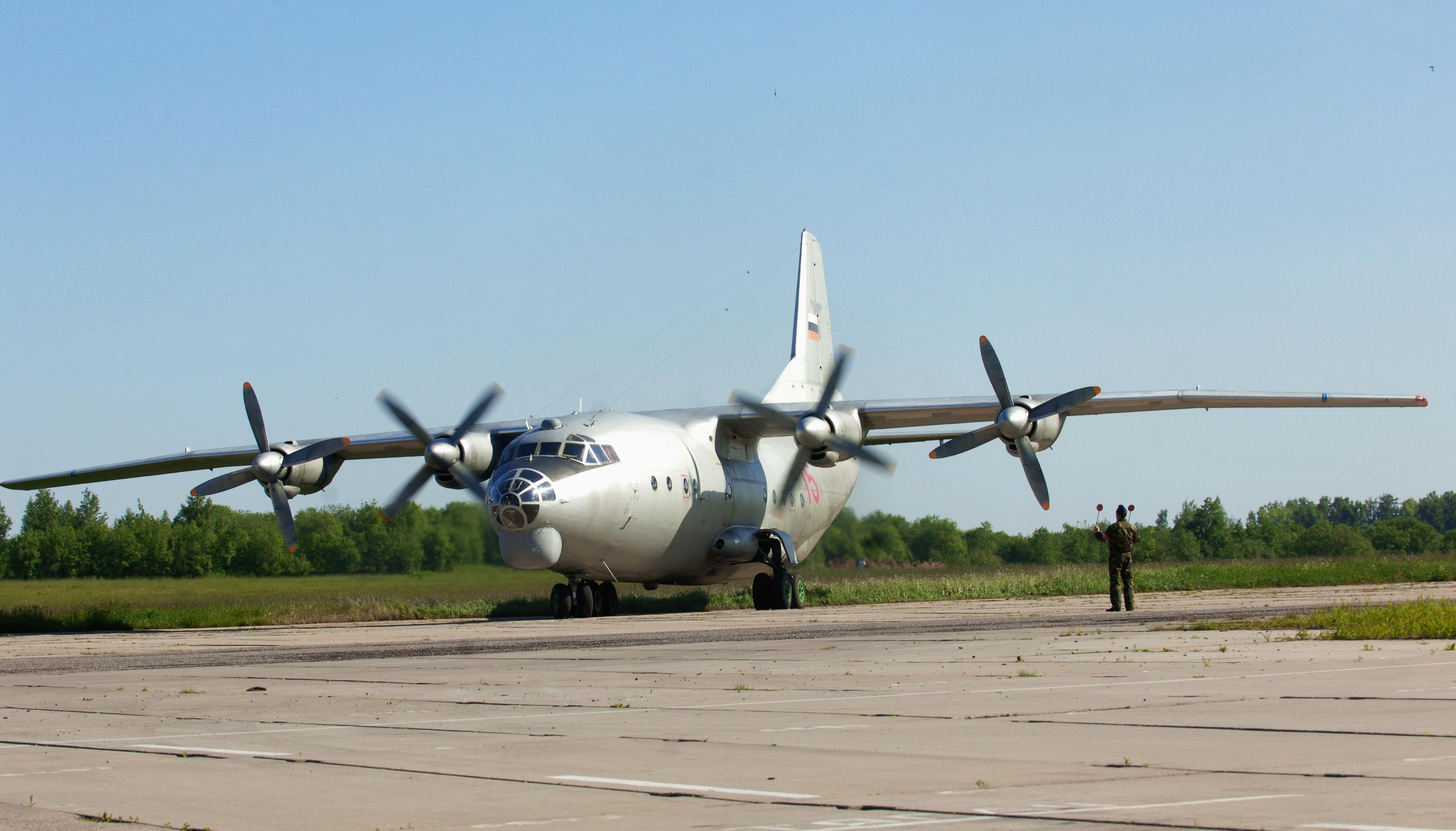 An-12 được đưa vào biên chế từ năm 1959 với động cơ cánh quạt mạnh mẽ. (Ảnh: RIA Novosti)