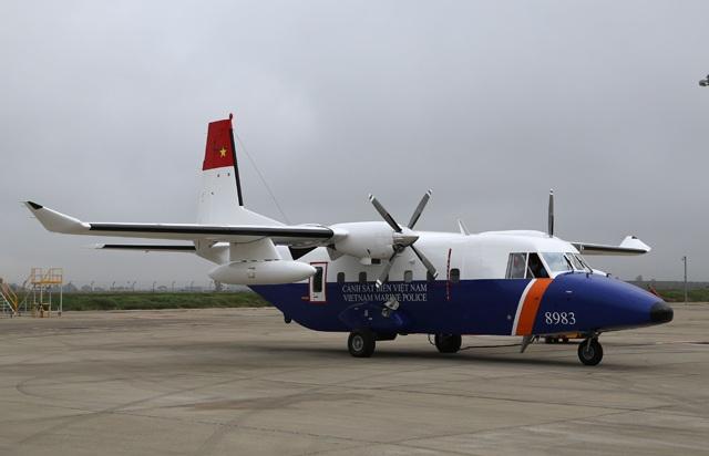CASA 212-400 mang số hiệu 8983 được bàn giao cho Cảnh sát Biển Việt Nam năm 2013. (Ảnh: Airbus)