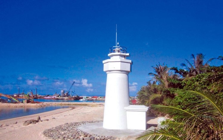 Đài Loan đã chính thức hoàn tất việc xây dựng ngọn hải đăng tại đảo Ba Bình, thuộc chủ quyền của Việt Nam (Ảnh: Udn)