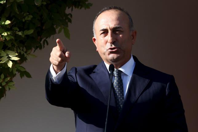 Ngoại trưởng Thổ Nhĩ Kỳ Mevlut Cavusoglu (Ảnh: AP)