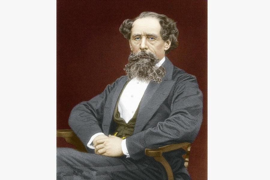Nhà văn Charles Dickens