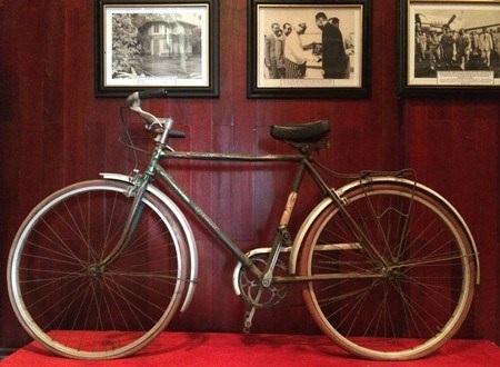 Chiếc xe đạp gắn bó với Thủ tướng Phạm Văn Đồng ngày xưa.