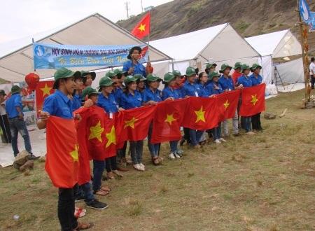 Sinh viên cả nước chung tay vì biển đảo Việt Nam.