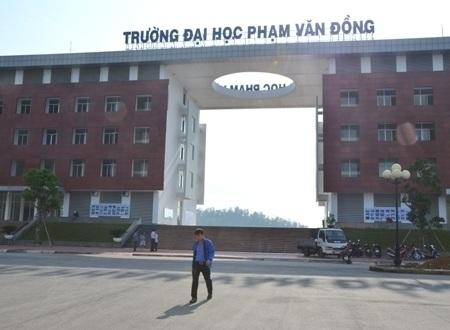 Trường ĐH Phạm Văn Đồng đã sẵn sàng cơ sở vật chất, bố trí chỗ ở cho cán bộ coi thi, hỗ trợ chỗ ở cho thí sinh,...