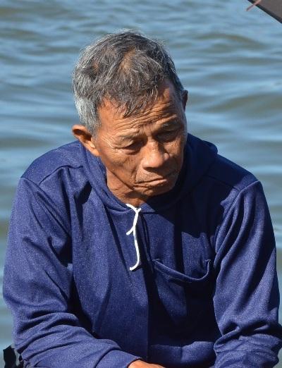 Lão ngư Võ Bông đã 70 tuổi, ông chia tay với Hoàng Sa sau cả cuộc đời bám biển.