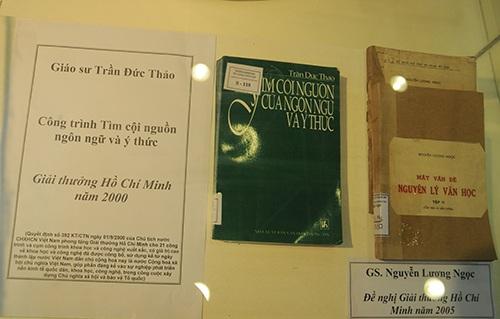 Công trình nghiên cứu giáo dục về ngôn ngữ được giải thường Hồ Chí Minh
