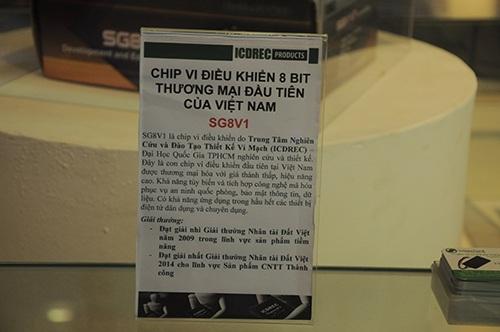 Thiết bị Chip vi điều khiển 8 bit thương mại đầu tiên của Việt Nam mang tầm vóc Quốc tế