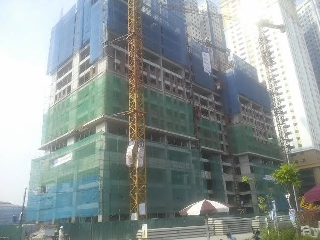 Tòa C - Chung cư Kim Văn Kim Lũ Vinaconex 2 đã xây đến tầng 15 - 3