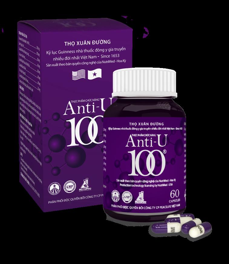 TPCN Anti-U100 – Hỗ trợ điều trị ung thư: Sản phẩm Việt cho người Việt - 2