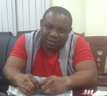 Đối tượng Micheal IkeChukwu Leonard (44 tuổi, quốc tịch Nigieria) vừa bị bắt khi có hành vi lừa hàng trăm phụ nữ Việt.