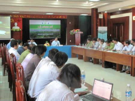 Buổi lễ công bố kế hoạch hành động REDD+ tại Quảng Bình
