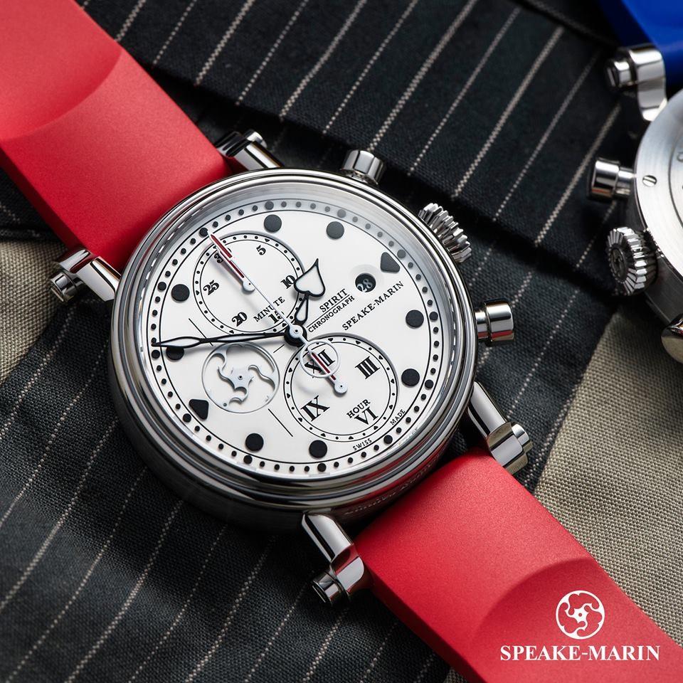 Tạp chí Forbes bình chọn Speake-Marin Spirit Seafire là một trong những mẫu đồng hồ chronograph đẹp và ấn tượng nhất Baselworld 2016.