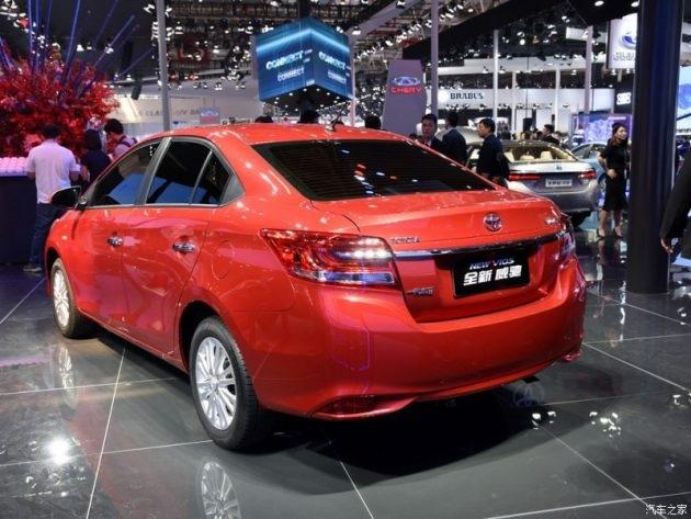 Toyota giới thiệu phiên bản nâng cấp của Vios - 5