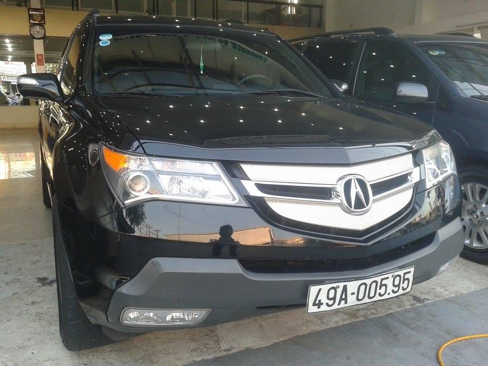 Acura MDX 2006 cho thị trường Mỹ đã có mặt tại Việt Nam từ lâu