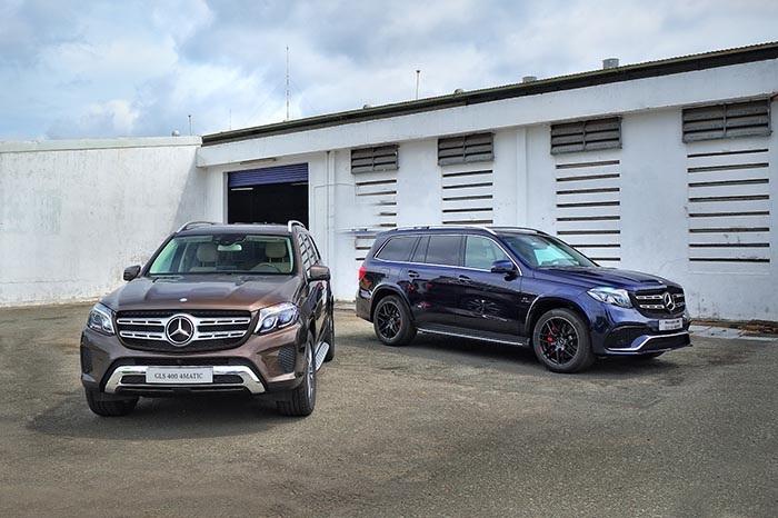 Các mẫu Mercedes-Benz GLS vừa có mặt tại Việt Nam
