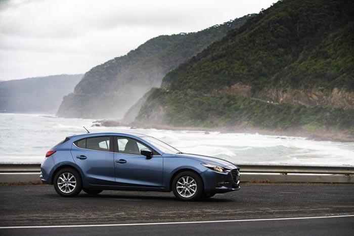 Mazda3 2017 phiên bản hatchback tại Australia