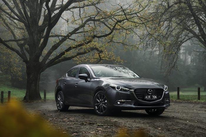 Mẫu Mazda3 2017 phiên bản sedan tại Australia