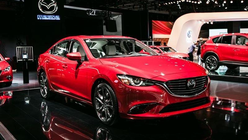 Mazda6 phiên bản 2017 tại Mỹ