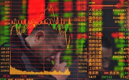 Trong phiên giao dịch đầu tuần, giới đầu tư chứng khoán Trung Quốc đã đẩy mạnh bán ra số cổ phiếu trước đó được mua vào bằng tiền vay ký quỹ.