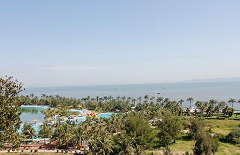 Hòn Dáu Resort, nơi các đại ca đất cảng dự định tổ chức tiệc. Ảnh: HẢI ĐƯỜNG