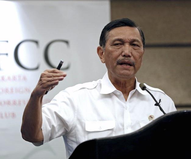 Bộ trưởng an ninh Indonesia Luhut Panjaitan (Ảnh: Malaysianinsider)