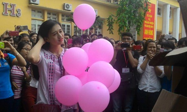 Phương Thảo từng từ chối lời tỏ tình của nam sinh Đại học Thương Mại.