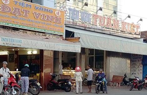 Tiệm vàng Tuấn Kiệt ở xã Tắc Vân, TP Cà Mau. Ảnh: Trần Vũ