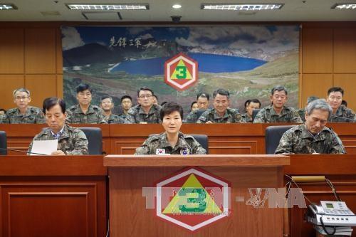Hai miền Triều Tiên tìm kiếm sự ủng hộ quốc tế - 1