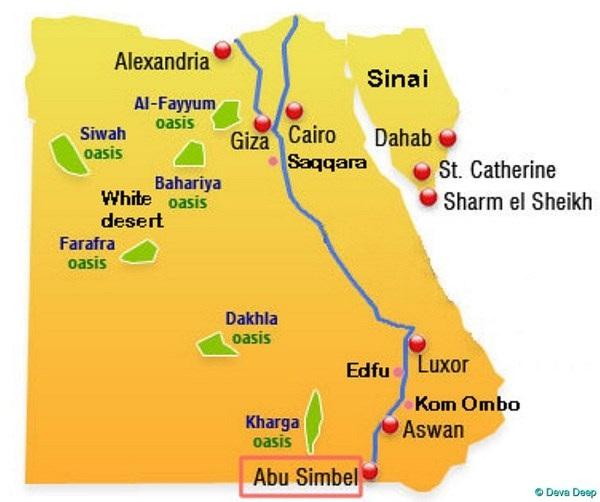 Chiêm ngưỡng đền thờ Abu Simbel - niềm tự hào của người dân Ai Cập - 1