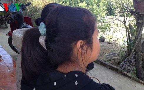 Nữ sinh T., người bị cô bạn cùng trường lừa đưa sang Trung Quốc